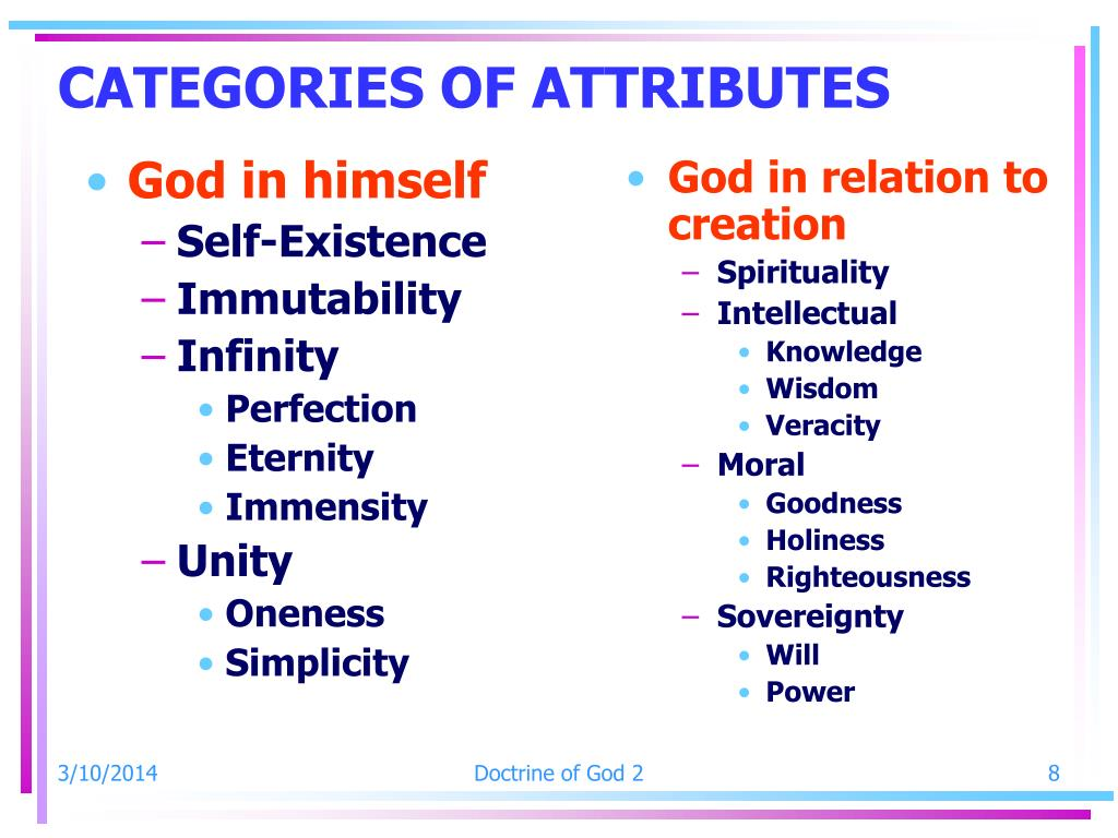 God in relation to creation