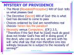 mystery of providence26