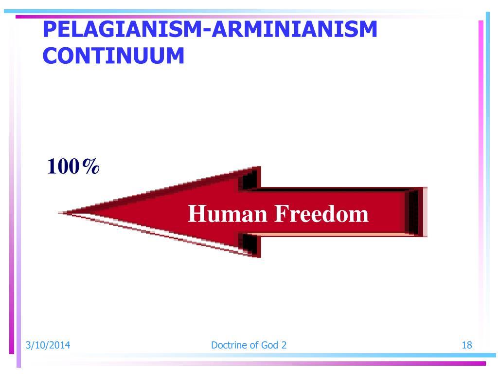 PELAGIANISM-ARMINIANISM