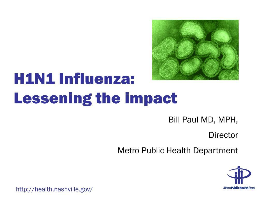 H1N1 Influenza:
