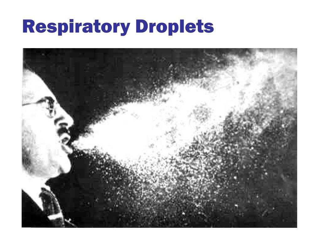 Respiratory Droplets