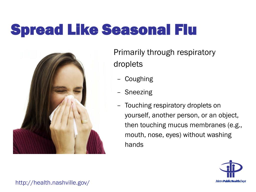 Spread Like Seasonal Flu