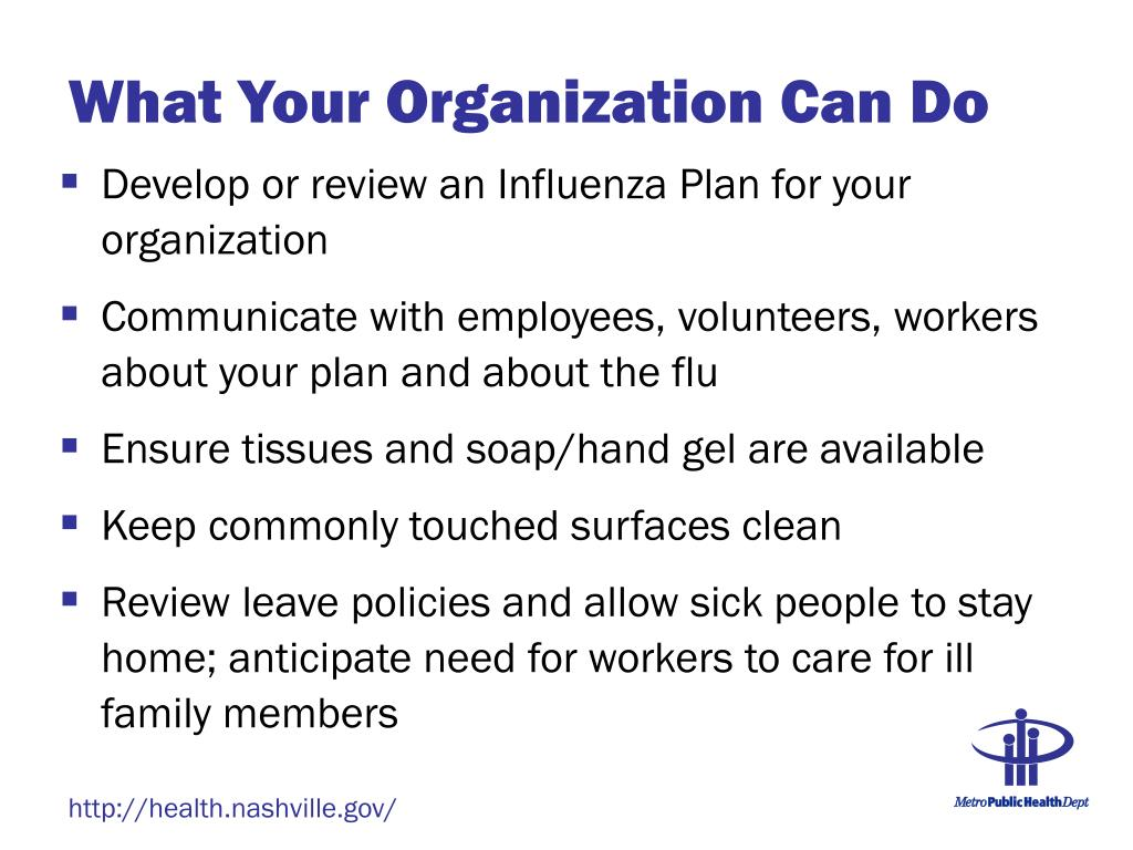 What Your Organization Can Do