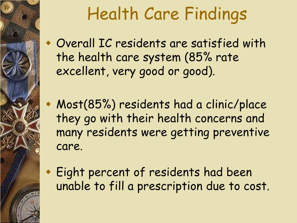 Health Care Findings