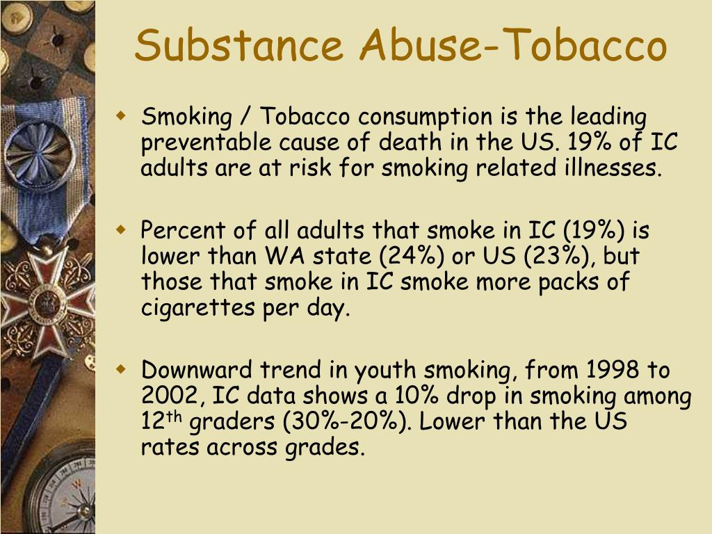 Substance Abuse-Tobacco
