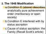 2 the 1948 modification