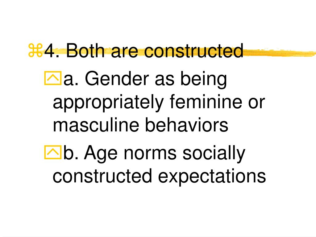 4. Both are constructed