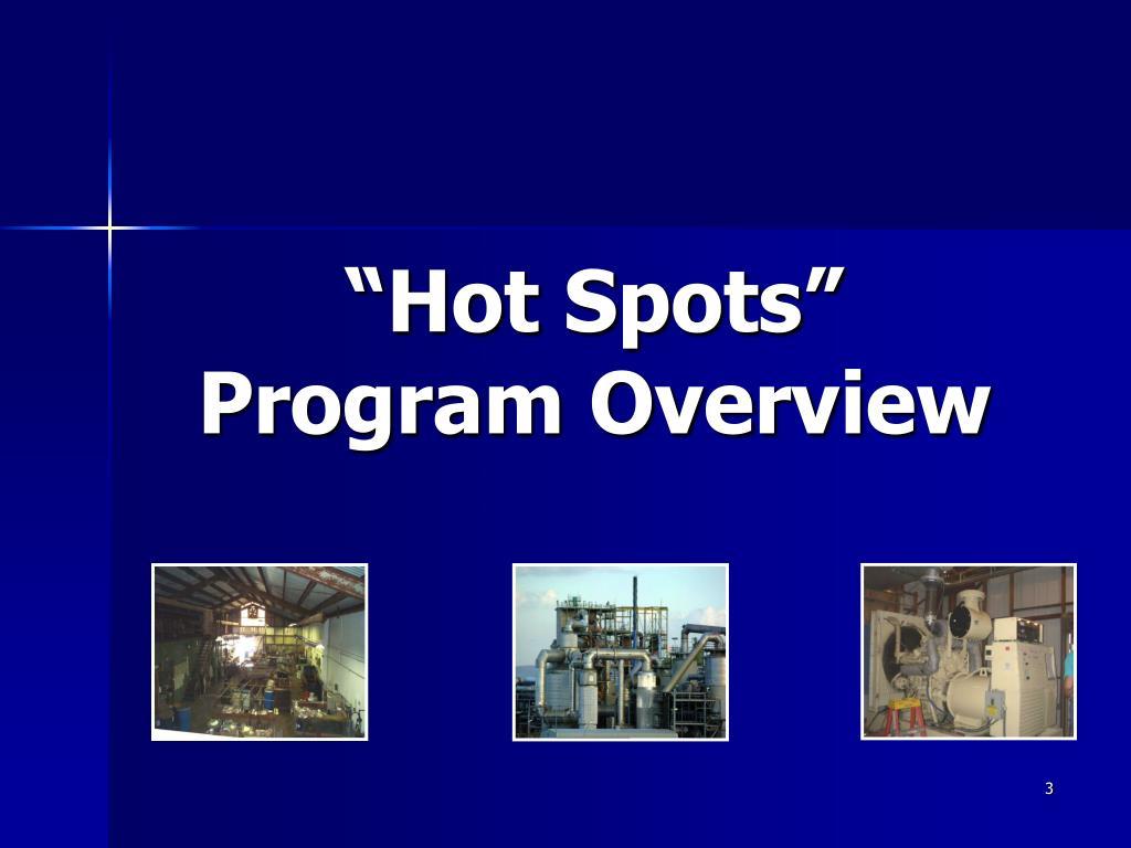 """""""Hot Spots"""""""