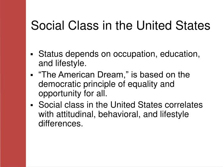 a comparison of the racial stratification systems in the united states and mexico Systems of social stratification 71 compare and a racial caste system from the between the caste systems of the united states and.