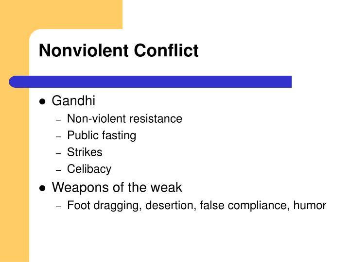 Nonviolent Conflict