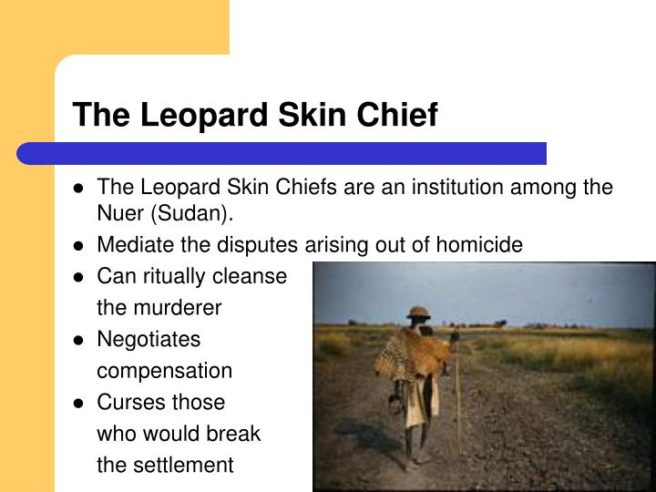 The Leopard Skin Chief
