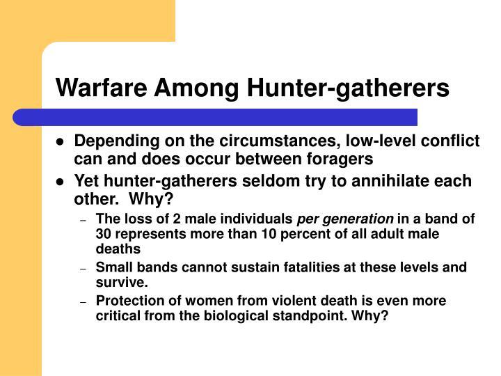 Warfare Among Hunter-gatherers