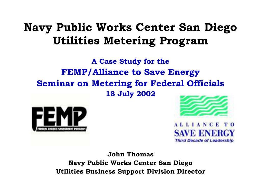 Navy Public Works Center San Diego