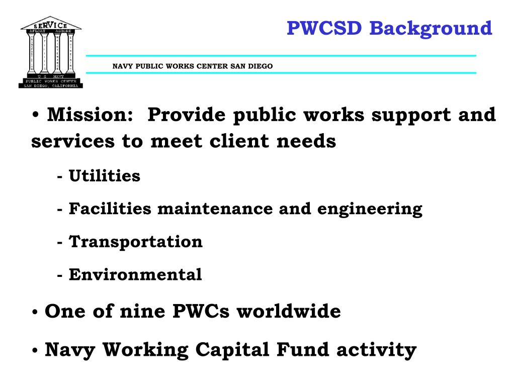 PWCSD Background