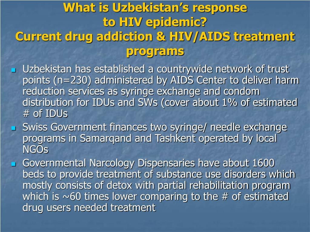What is Uzbekistan's response