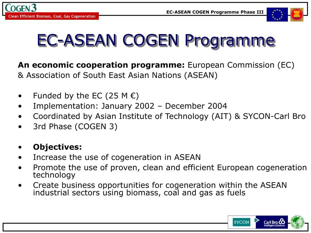 EC-ASEAN COGEN Programme