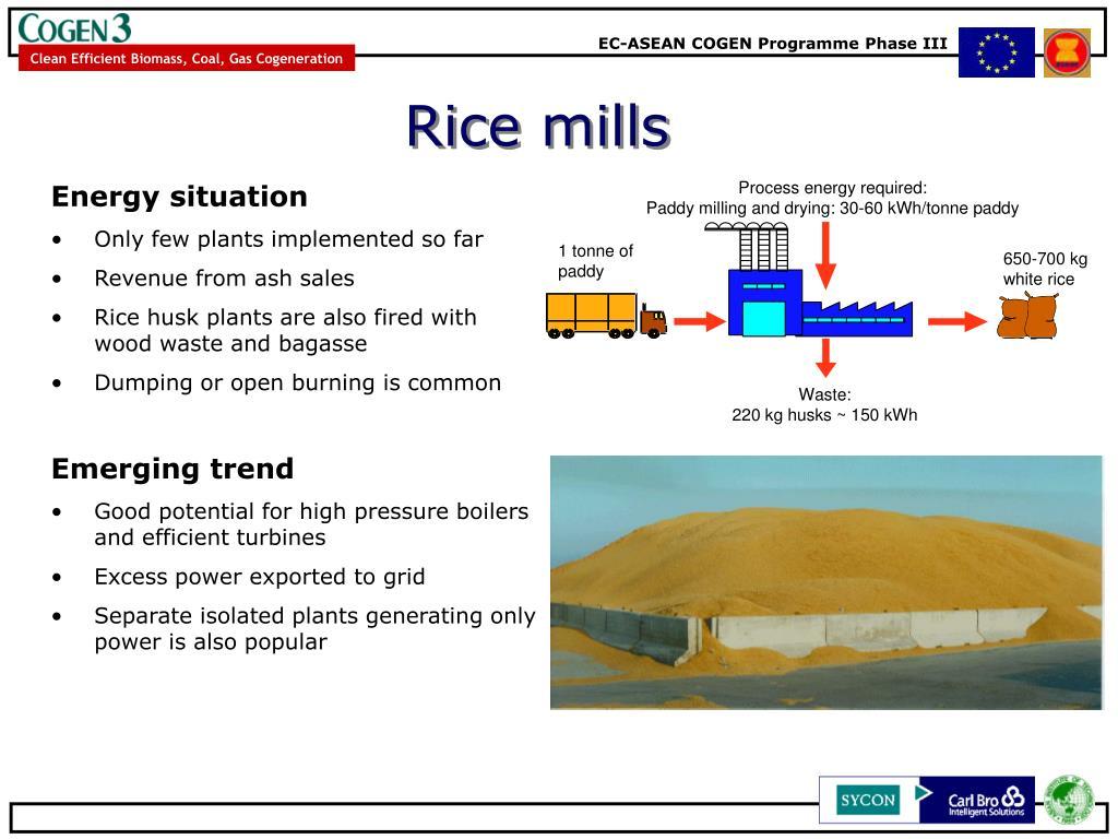 Rice mills