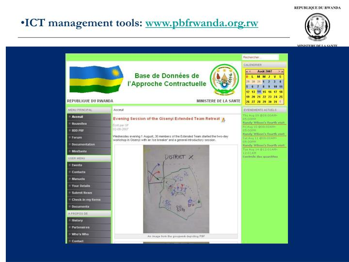 ICT management tools: