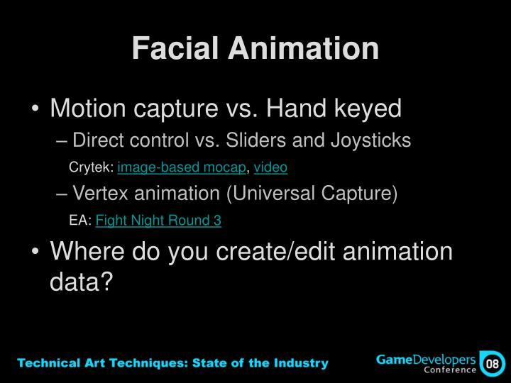 Facial Animation