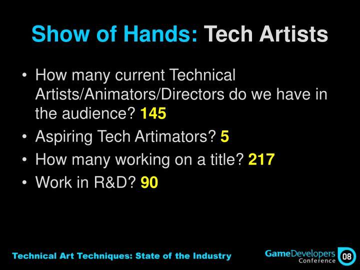 Show of Hands: