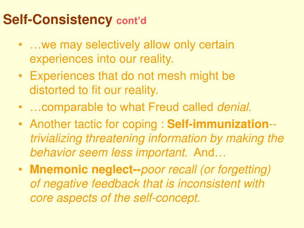 Self-Consistency