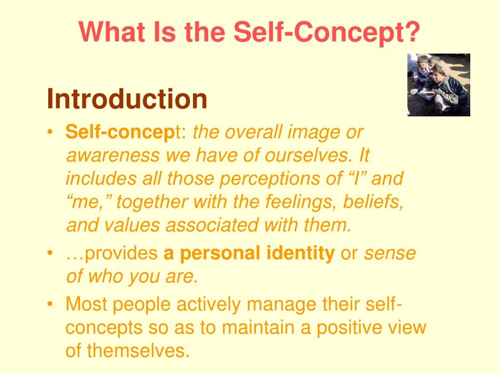 What Is the Self-Concept?