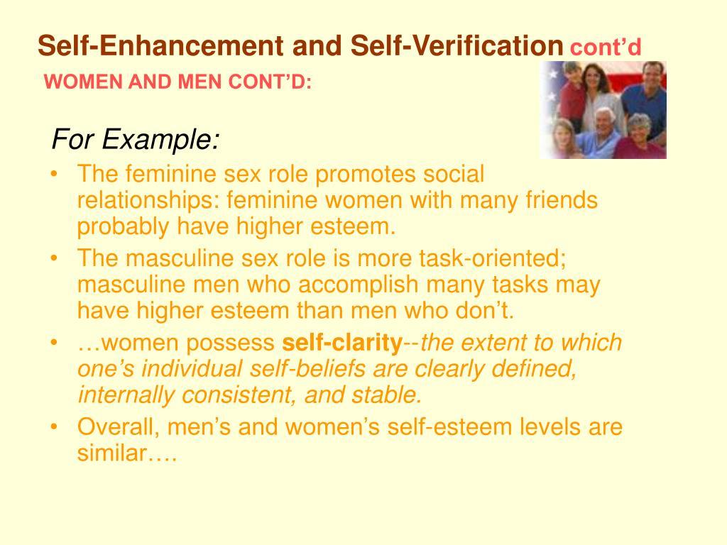 WOMEN AND MEN CONT'D: