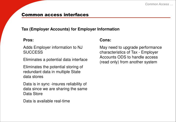 Common Access …
