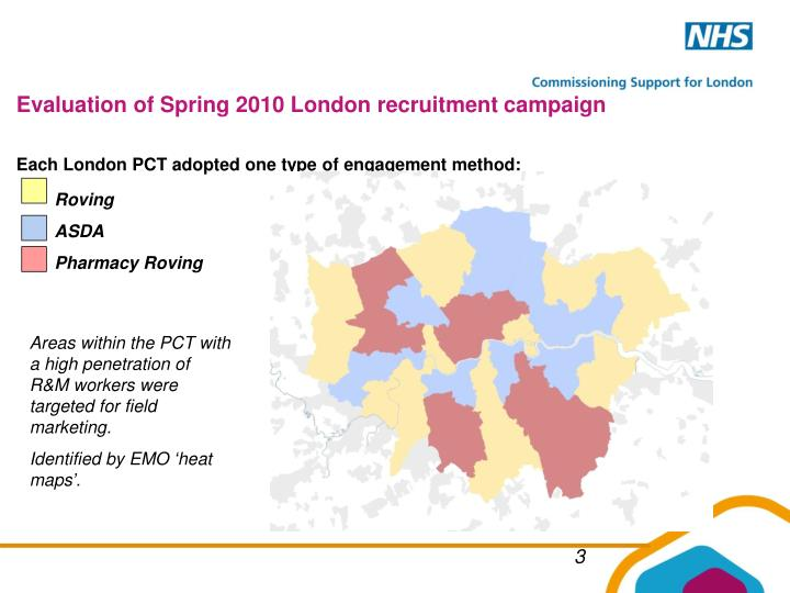 Evaluation of Spring 2010 London recruitment campaign