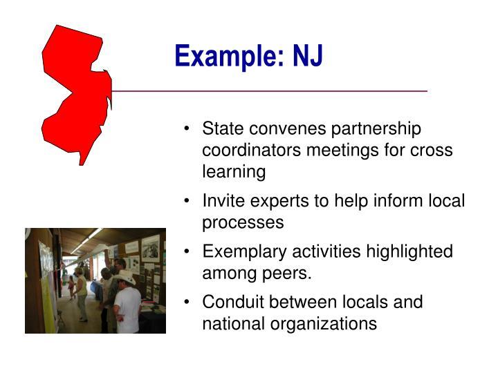 Example: NJ