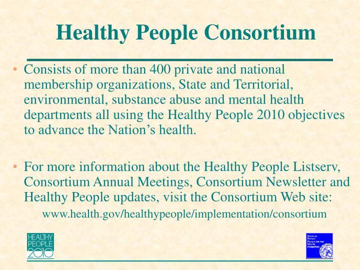 Healthy People Consortium
