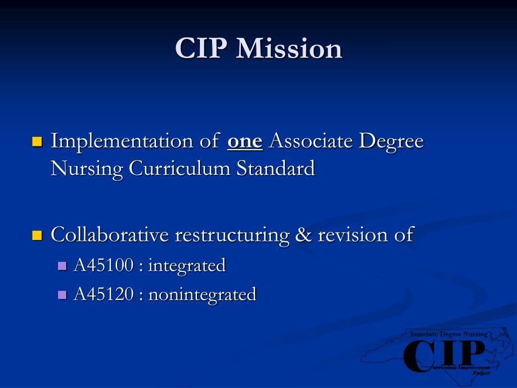 CIP Mission
