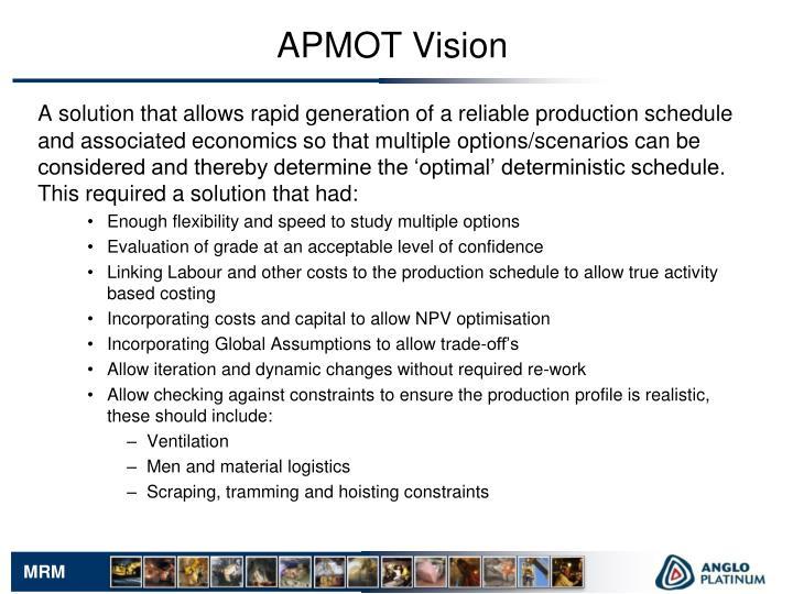 APMOT Vision