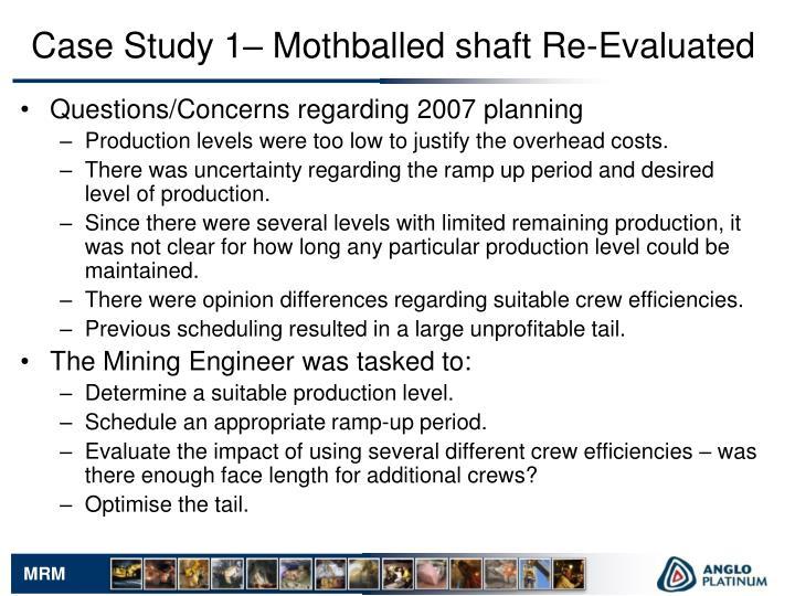 Questions/Concerns regarding 2007 planning
