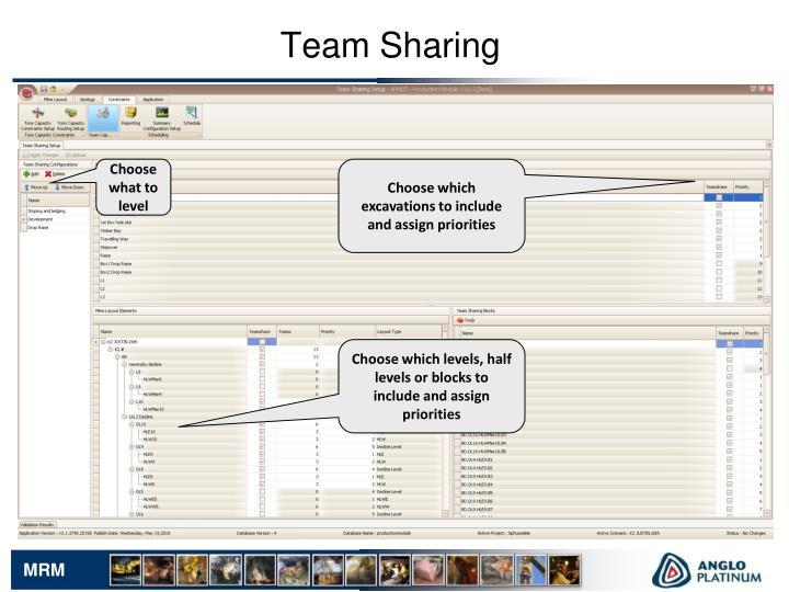 Team Sharing