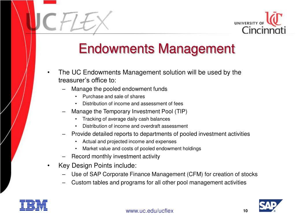 Endowments Management