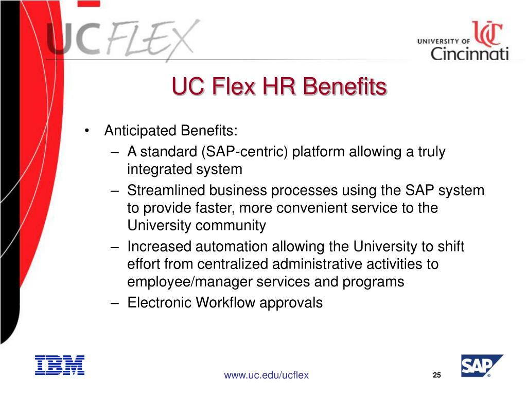 UC Flex HR Benefits