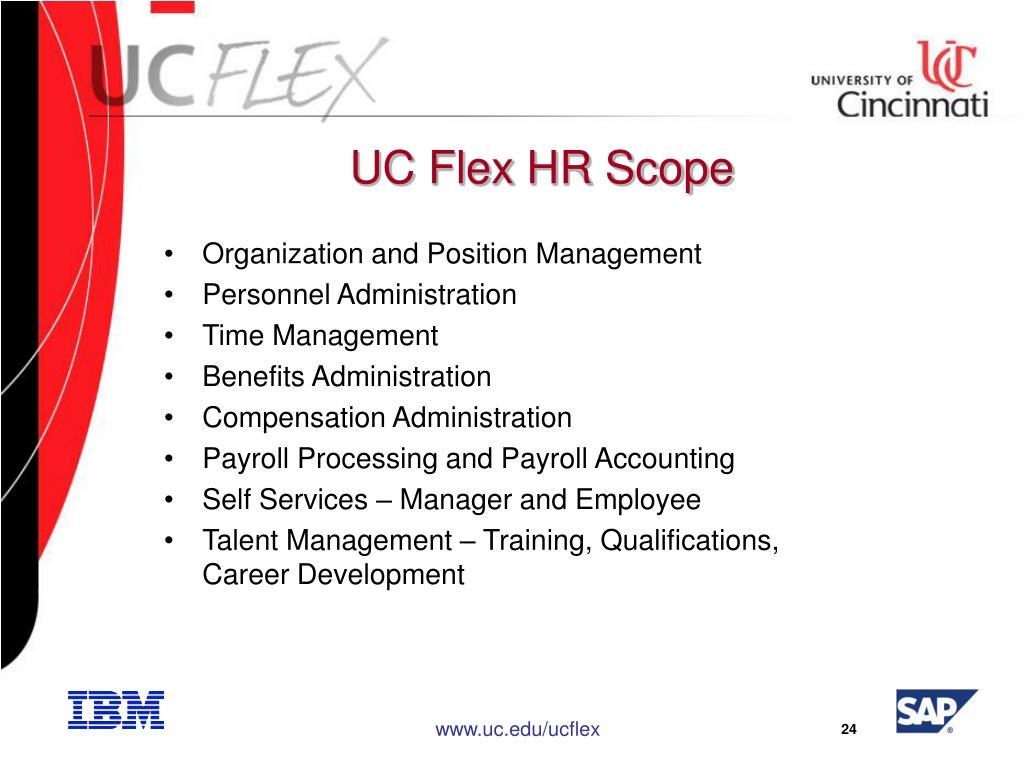 UC Flex HR Scope