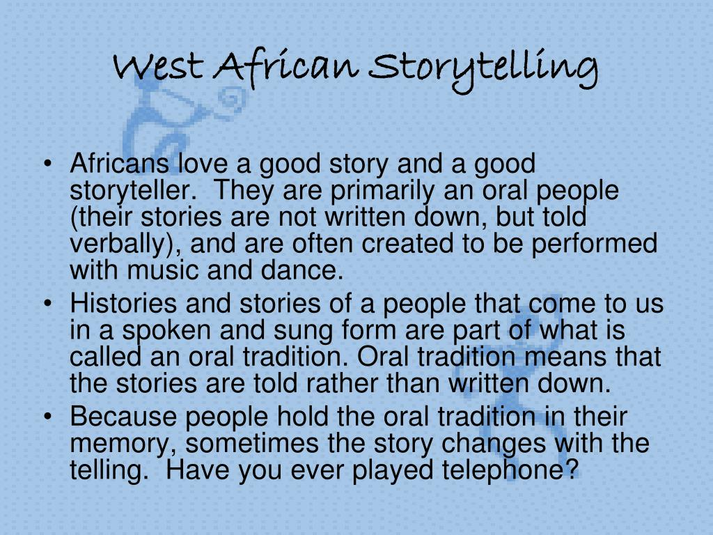 West African Storytelling