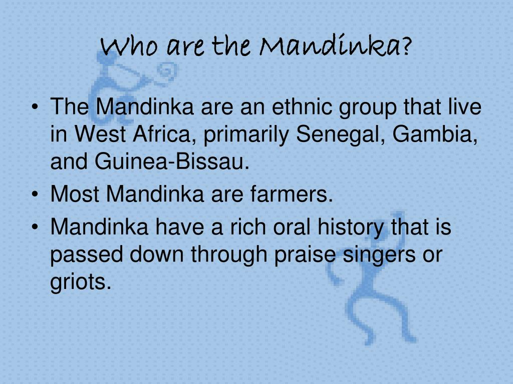 Who are the Mandinka?
