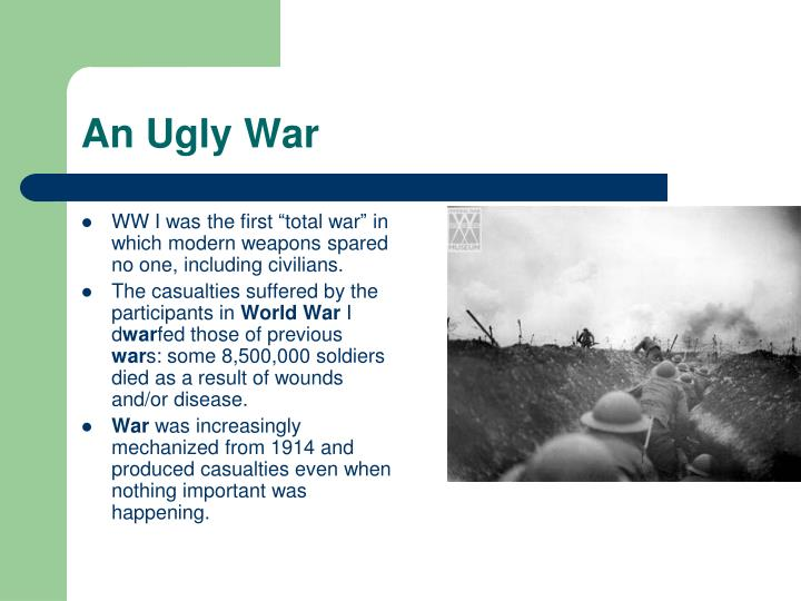 An Ugly War