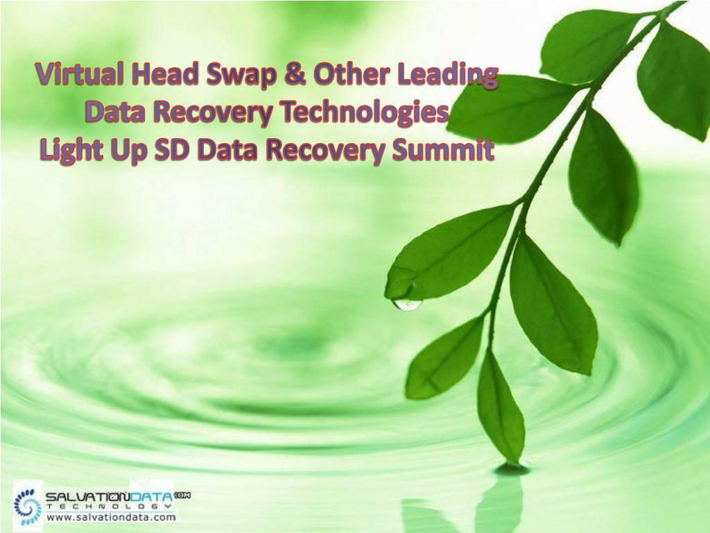 Virtual Head Swap & Other Leading Data Recovery Technologies