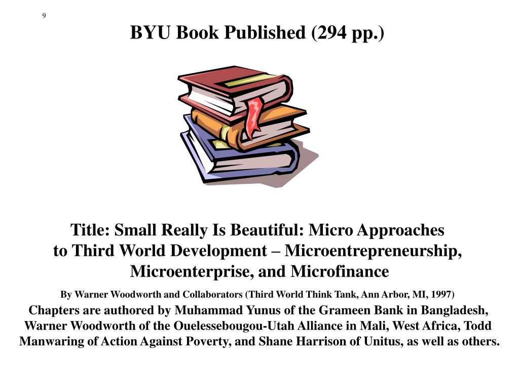 BYU Book Published (294 pp.)