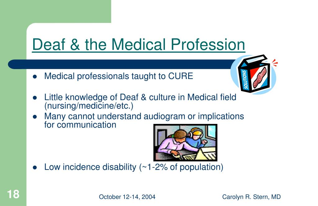 Deaf & the Medical Profession