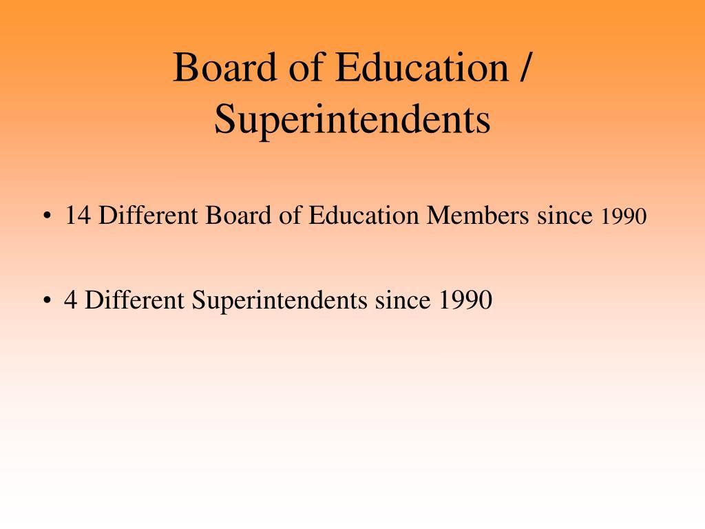 Board of Education /