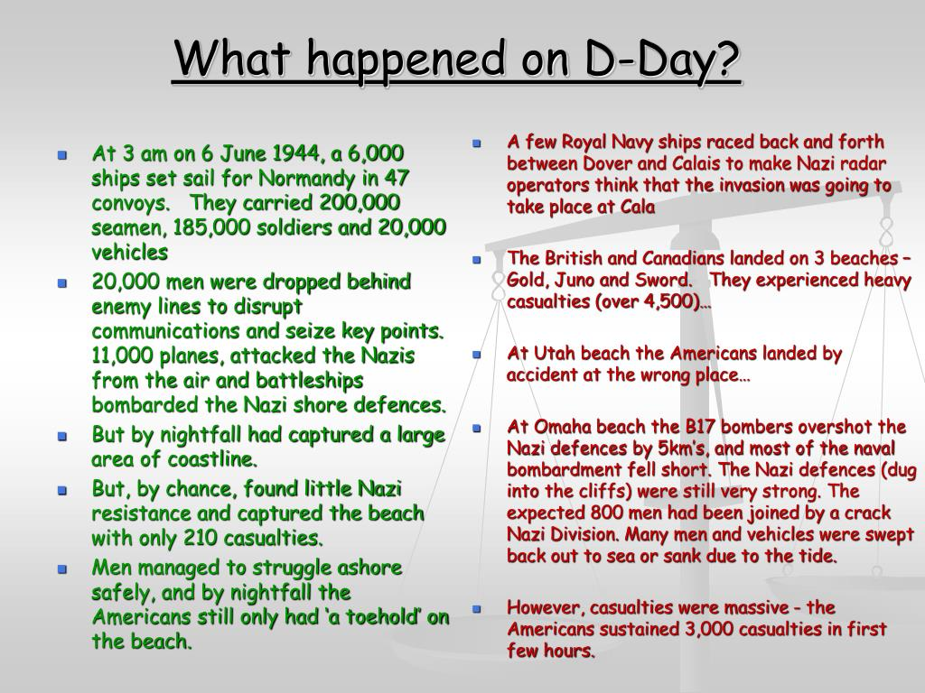 What happened on D-Day?