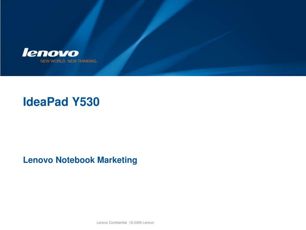 IdeaPad Y530
