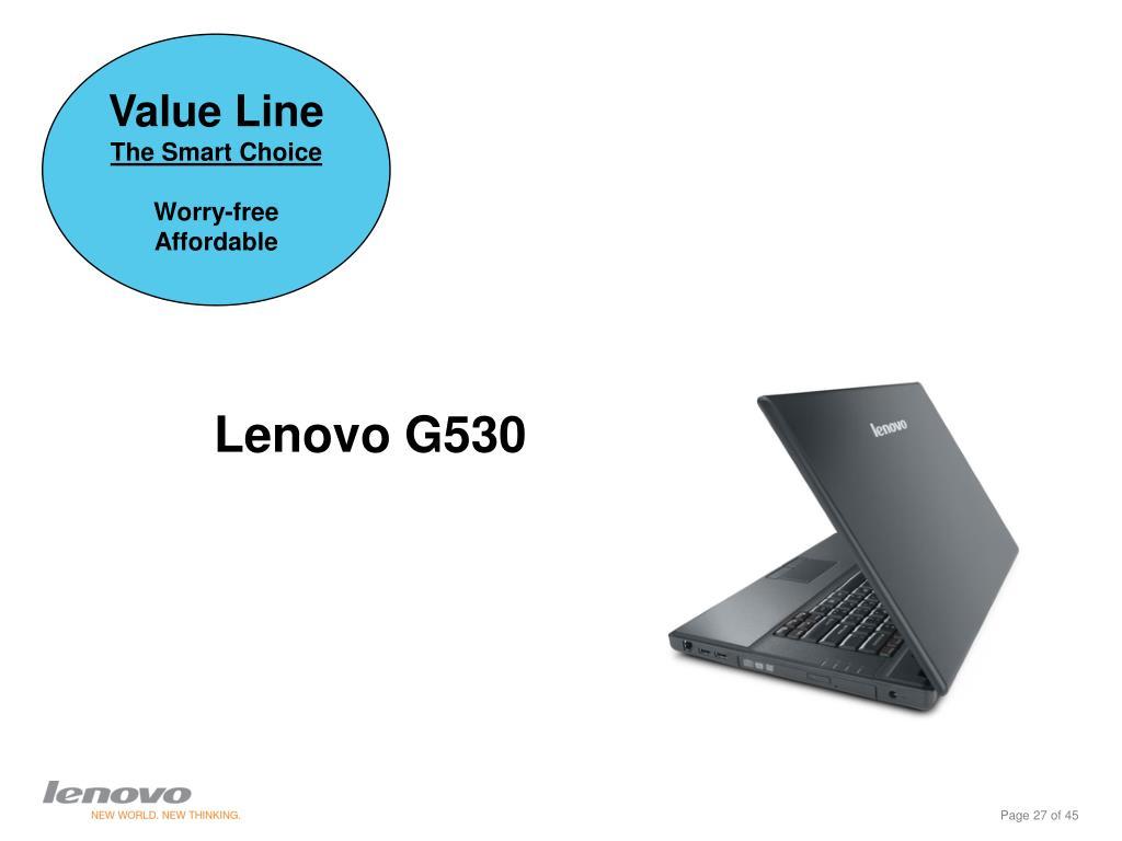 Lenovo G530