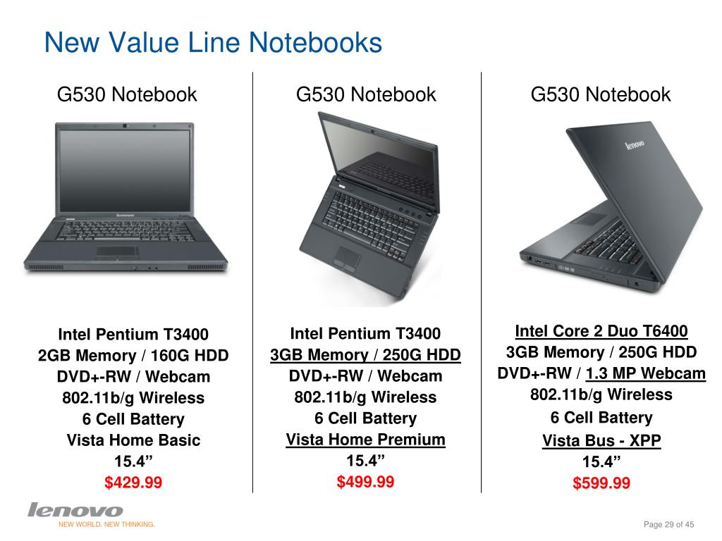 New Value Line Notebooks