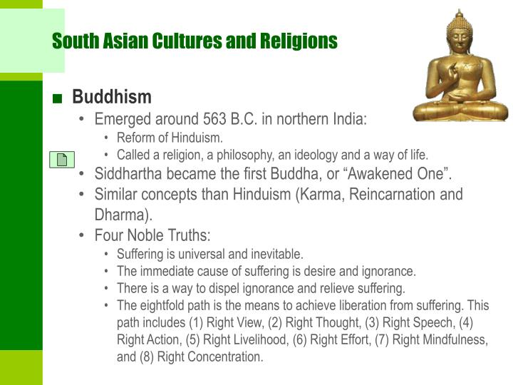 South Asian Cultures and Religions
